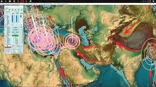 2/17/2019 -- Global Earthquake Update -- Large M6.4 strikes deep below Pacific plate -- Unrest due