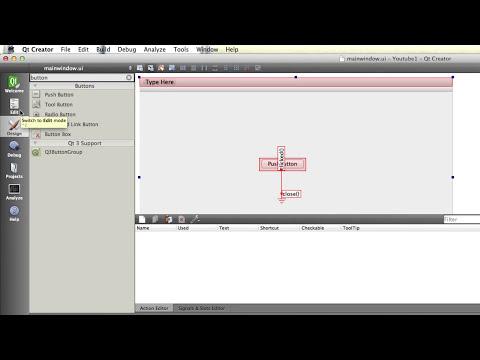 Tutorial Qt Creator C++ - 3 - Introdução a GUI (Em Português)
