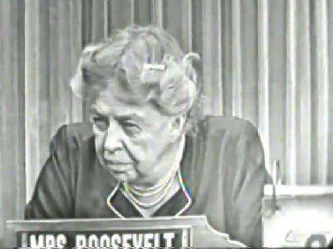 What's My Line? - Eleanor Roosevelt (Oct 18, 1953) [WITH COMMERCIALS]