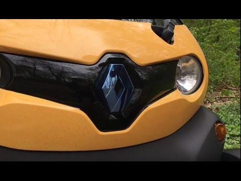 Тестируем электрическую спортивную Renault Twizy
