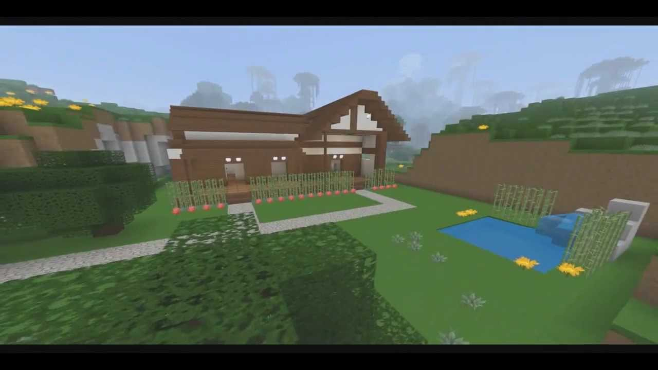 Minecraft construction maison traditionnelle japonaise youtube - Construction maison minecraft ...