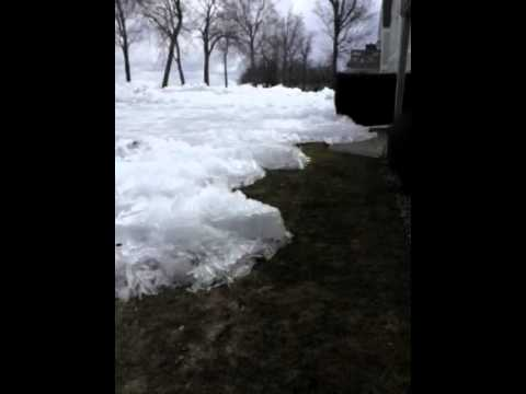 Glaciers Visit Izatys Resort - Mille Lacs Lake, MN - YouTube