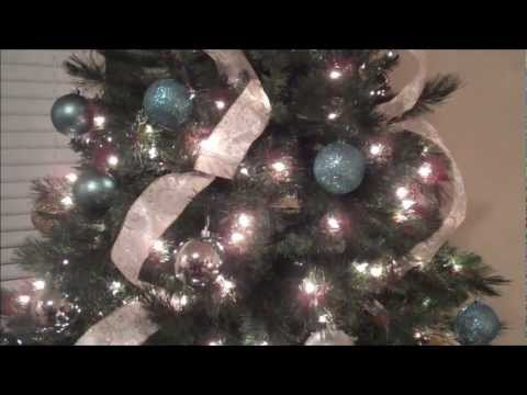 Como Decorar un Arbol de Navidad con Liston