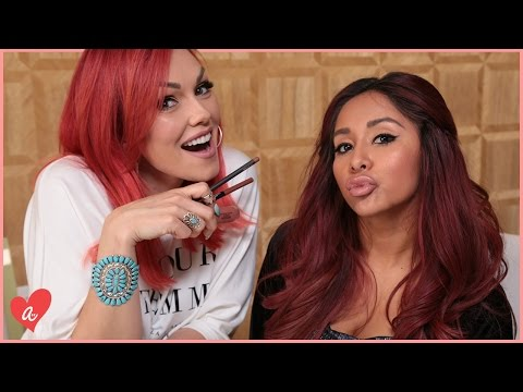 Fuller Lips Without Surgery with Kandee Johnson and Snooki | #MomsWithAttitude Moment