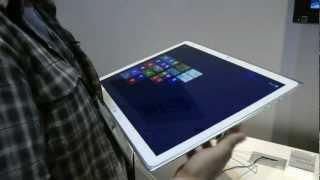 20-дюймовый 4К-планшет Panasonic