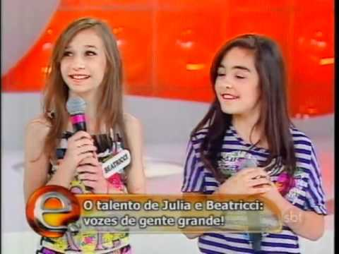 Eliana - Julia e Beatricci fazem cover de Katy Perry