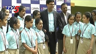Indian Chess Grand Master Viswanathan Anand Interacts With Edify Students In Hyderabad