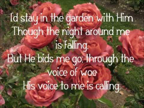 In the Garden - Alan Jackson (Lyrics)