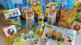 2015 Minions Bob Kevin Stu Surprise Set Toys Collections 迷你小兵