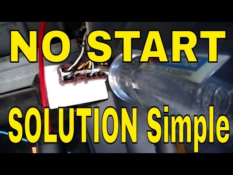 NO START HONDA PGM-FI MAIN RELAY TEST