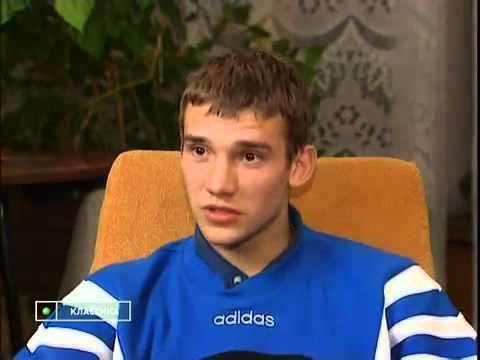 Young Andriy Shevchenko 20 Years Old 1997
