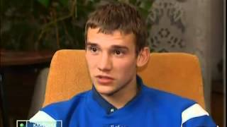 Young Andriy Shevchenko 20 Years Old 1997