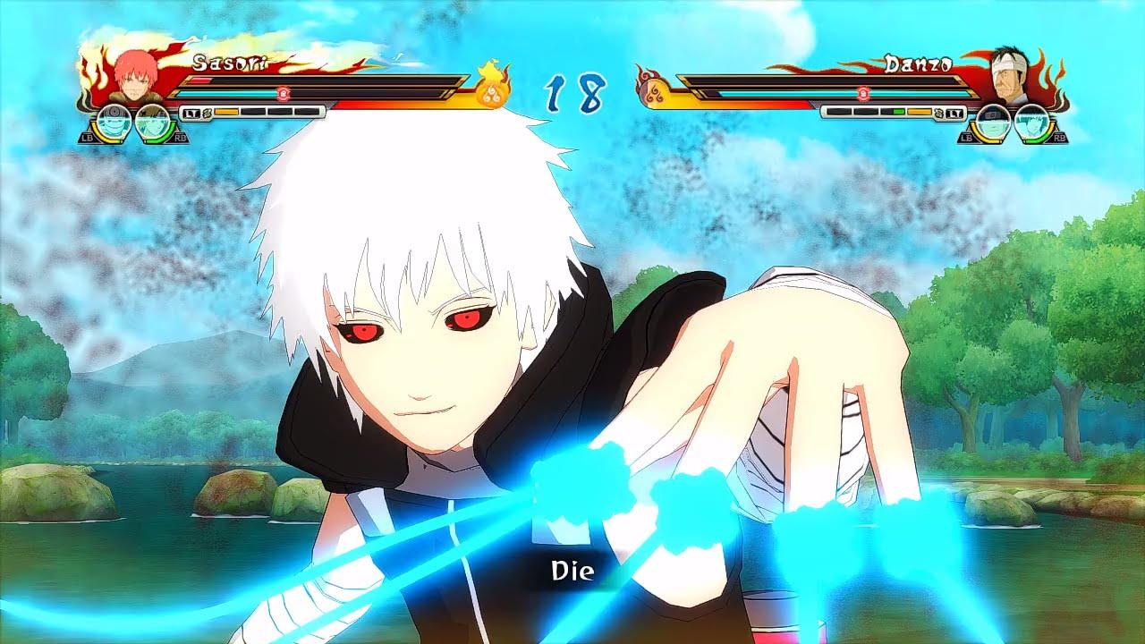 Naruto Ultimate Ninja Storm Revolution Tokyo Ghoul Ken Kaneki Sasori Mod Gameplay Pc Youtube