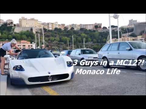 3 Guys IN A MC12?! Monaco Life.