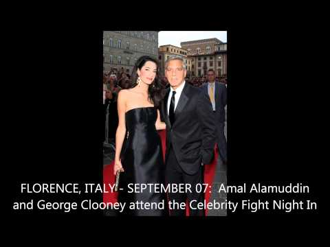Watch George Clooney declare his love for Amal Alamuddin
