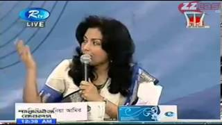 Andalib Partho Mahi B Chowdhury with Omi Rahman Pial and Arafat A Rahman RTV Talk Show Part 4