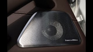 How Bowers & Wilkins designed their system for the new BMW X5