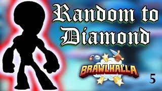RANDOM TO DIAMOND! 1783 ELO • RANKED 1v1s • Brawlhalla Gameplay