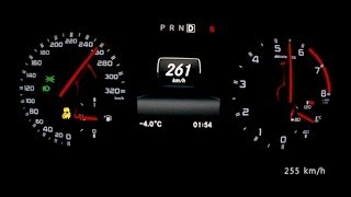 Mercedes A 45 AMG 2014 - acceleration 0-260 km/h, top speed test and more