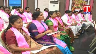 TRS Candidates Awareness Meet Still Continued | TRS Bhavan  Telugu