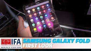 Samsung Galaxy Fold First Look: Meet the Foldable Phone