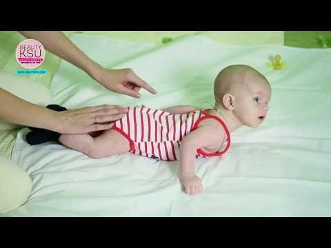Гимнастика ребенку от 1 месяца