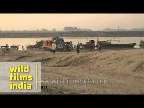 Pahleja Ghat Gandak River Sonepur Bihar Card 3 L 71 8