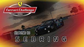 iRacing - SCRS Ferrari Challenge    Round 10 - Sebring International