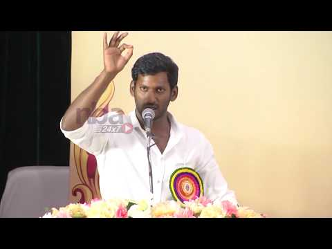Nadigar Sangam | Vishal | Nadigar sangam Building Will come at any Cost  |  nba 24x7
