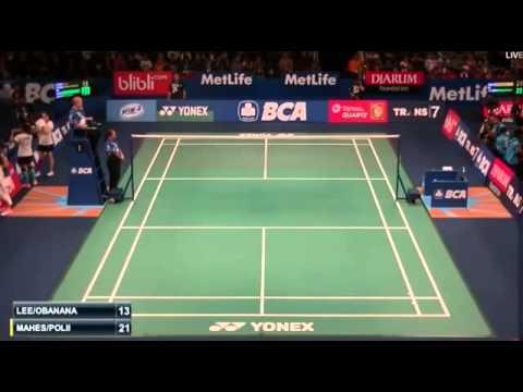 2015 BCA Indonesia Open R32 [WD] Eva LEE-Paula Lynn OBANANA vs Nitya-Greysia POLII (Sports)