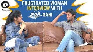 Nani Interview With Frustrated Woman | Frustrated Woman Latest Video | Nani MCA Movie | Sunaina