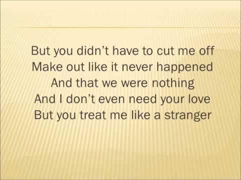 Somebody That I Used to Know - Walk off the Earth (Gotye - Cover)With Lyrics
