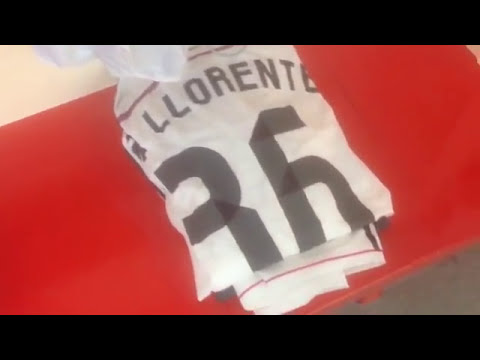 Todo listo en el vestuario del Real Madrid / All is set & ready for today's match!