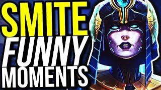 27 KILLS NEITH BURST BUILD OP! - SMITE FUNNY MOMENTS