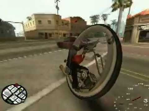 GTA:SA Monowheel Mod