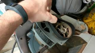Delta Mitre Saw Belt Change 34-080
