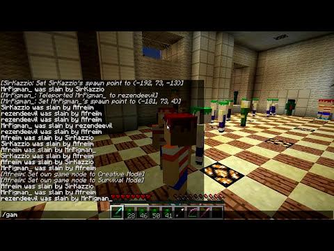 Minecraft Mods - MORPH HIDE AND SEEK - PHINEAS E FERB MOD