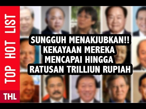 15 Most People Rich in Indonesia   New Name Sign Richest People List   FORBES Magazine 2016
