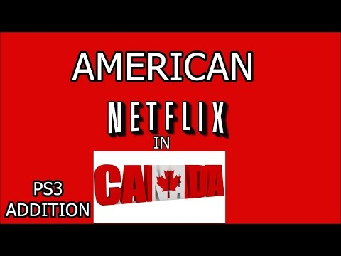 American Netflix on ps3 in Canada