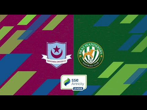 First Division GW5: Drogheda United 3-1 Bray Wanderers