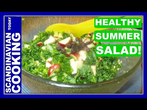 Kale Salad Recipe for the Summer!