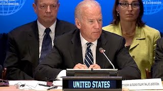 Joe Biden    Addresses the Leaders' Summit on Countering ISIL and Violent Extremism