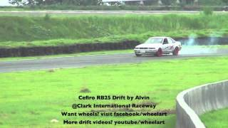 Cefiro RB25 Drift by Alvin @ Clark International Speedway