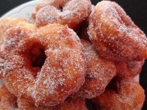 Receta dulce: Receta de buñuelos de calabaza caseros - Buñols de carabassa