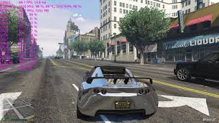 Grand Theft Auto V 1510MHZ OC | MSI GTX 980 Ti LIGHTNING | 1080P | MAX SETTING | I7-5820K | DDR4