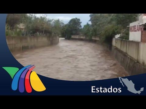 Lluvias fuertes desbordan el río Marabasco | Noticias de Colima