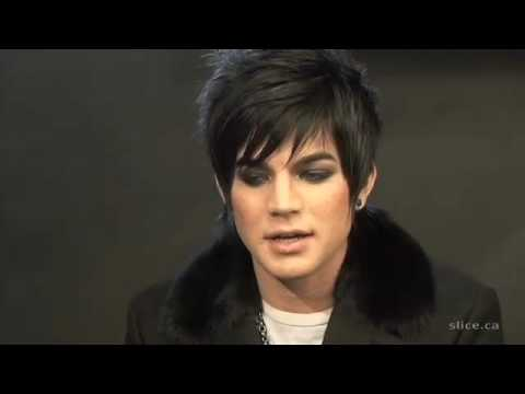 Adam Lambert Interview Part 1 Video