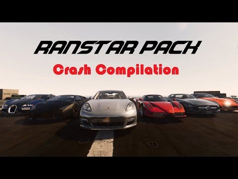 GTA V Real Supercar Pack 2016 (Ranstar Pack) Crash Compilation