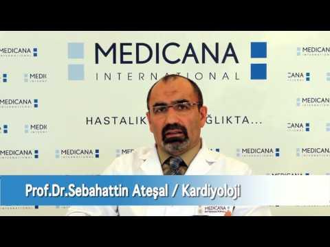 Kardiyoloji ve �� Hastal�klar� Uzman� Prof Dr Sebahattin Ate�al Kalp Krizini Anlat�yor