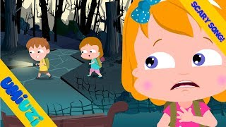 Umi Uzi | Monster Island | Halloween Songs For Kids | Halloween Stories For Babies